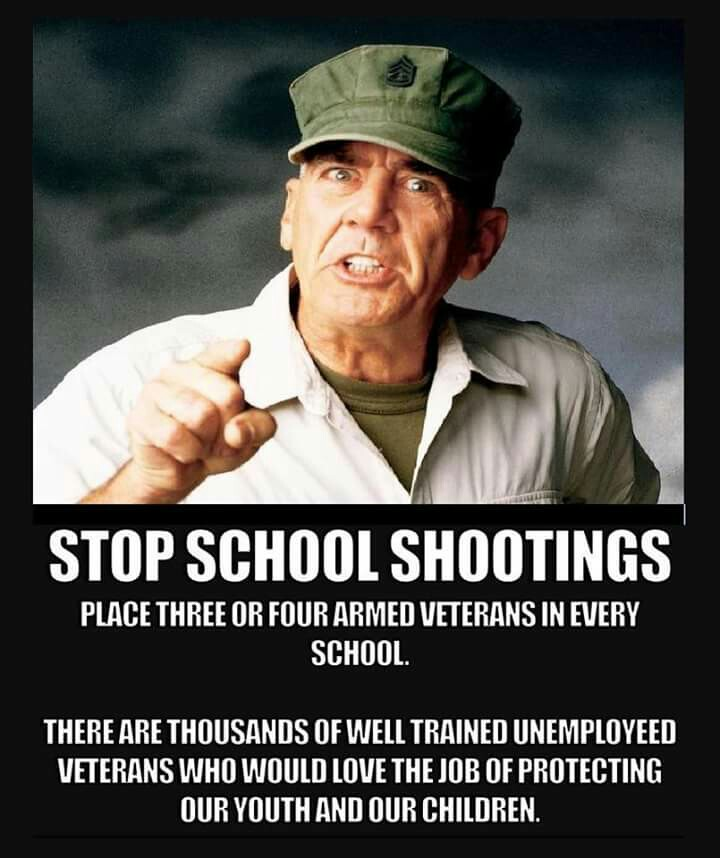 A 4th Never Mentioned Solution To School Shootings In
