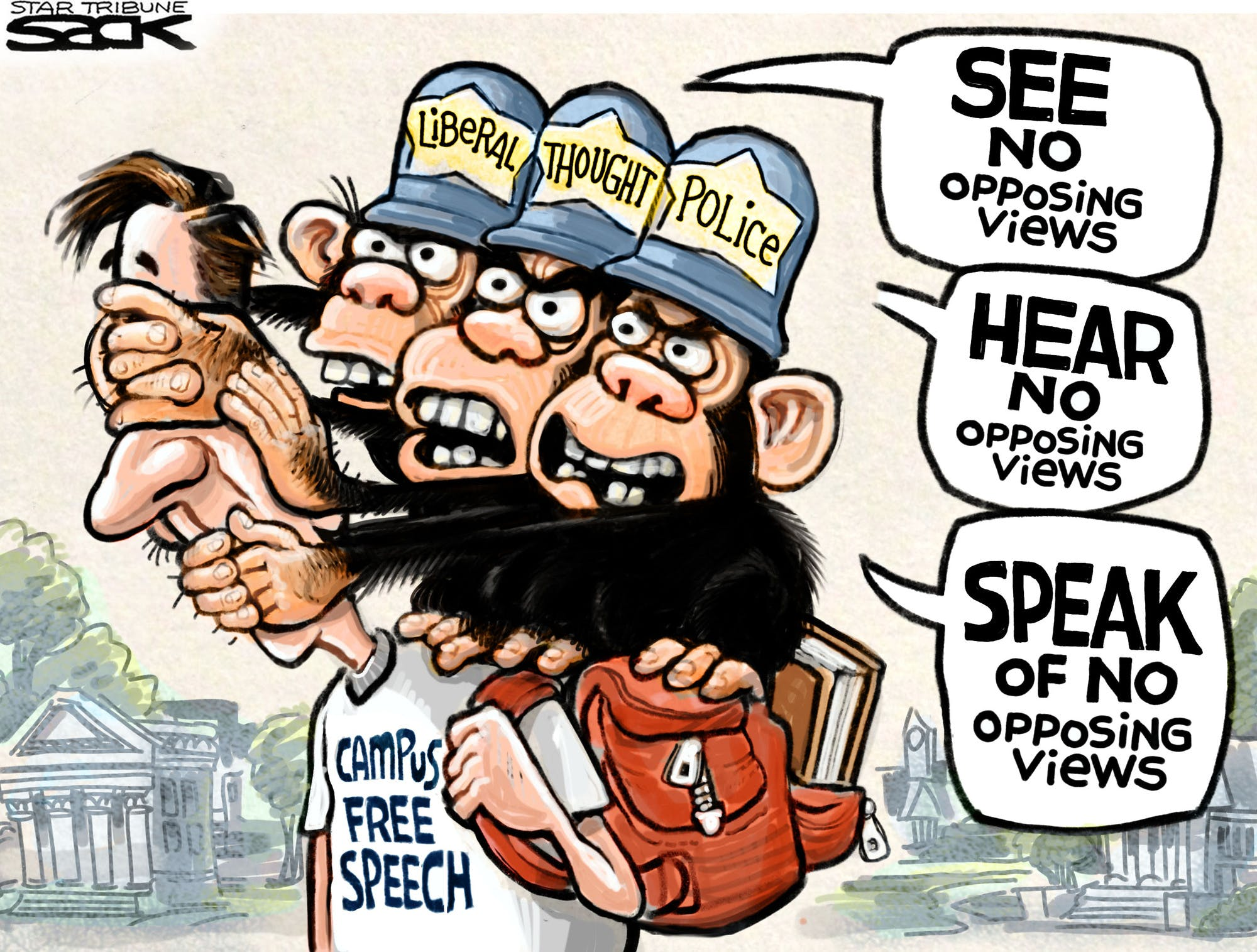 The New Home Of Intolerance To Free Thought And Free Speech