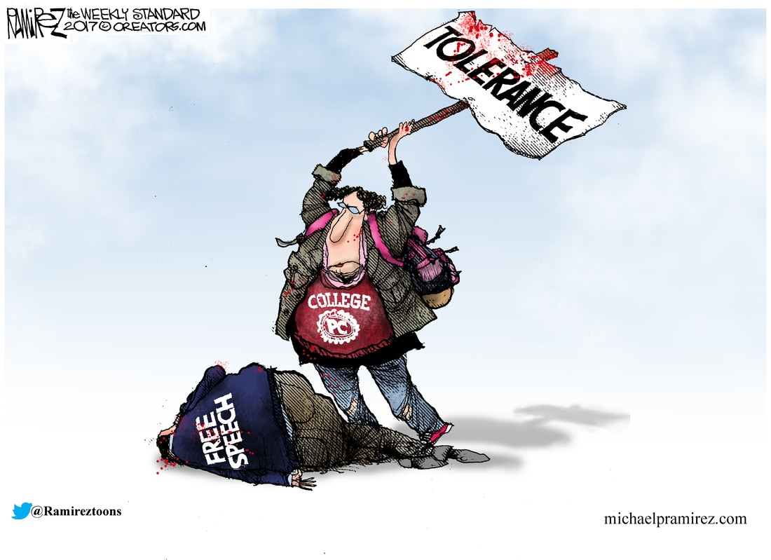 Image result for left party of tolerance cartoon